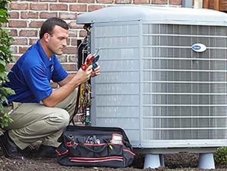 air conditioning repair man
