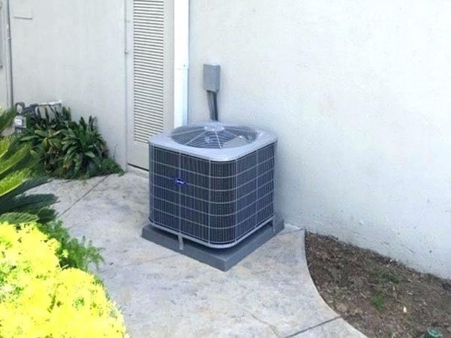 small residential ac unit